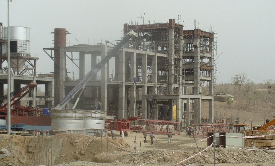 JP Super Cement plant in Sonbhadra