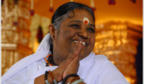Amma said environmental protection is one of the greatest issues mankind faces today