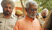 Aseemanand was charged for his role in the Samjhauta Express link train blast on February 18, 2007