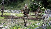 These heavily armed terrorists were surrounded by the soldiers in the Tangdhar sector of Kupwara