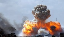 The air force on Saturday carried out a series of airstrikes on the positions of the al-Qaeda-linked Nusra front