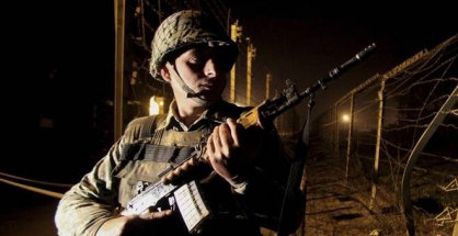 Firing by the Pakistani Army at Indian positions on the Line of Control (LoC) in Poonch sector started at around 8 pm