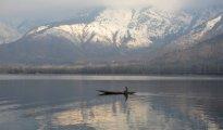 In Srinagar town, the minimum temperature recorded was minus 1.4 degrees Celsius
