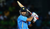 The stand-in India skipper hit a flurry of sixes and boundaries and the target kept getting closer and closer till Kohli hit a six to win the match
