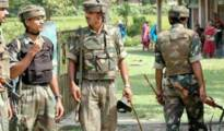 Police raided his house and official quarters in Dispur