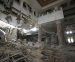 saddam palac bombed