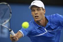 Berdych also reached the semi-finals last year in Melbourne