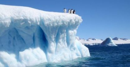The ice loss in the region is so large that it is causing small changes in the gravity field of the Earth
