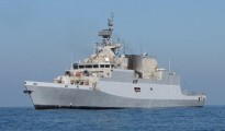 Intercepted vessel was involved in smuggling and there were eight crew onboard