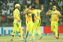 Punjab needed a strong start to have any chance of chasing the big total, but they began on the wrong foot