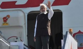 Modi's first stop is Uzbekistan