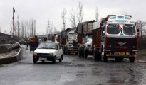 Over  1,500 vehicles including trucks, public and passenger transport vehicles and private vehicles got stuck