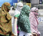 The minimum temperature recorded on Thursday was 27 degrees Celsius