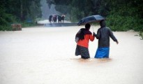 The forecast is of moderate to heavy rainfall in the coming days
