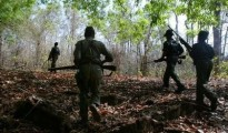 This year have been involved in eight gun battles with Maoists