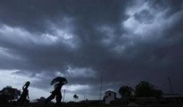 There are chances of heavy rainfall at some places in the state till Monday