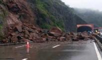 Road restoration operations was immediately undertaken on war-footing