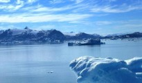 The seas rose in response to melting ice sheets in Greenland and Antarctica
