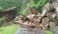Most parts of Uttarkashi have been receiving heavy rainfall
