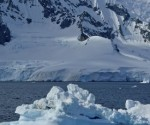 The researchers studied the peaks protruding through ice in the Ellsworth Mountains