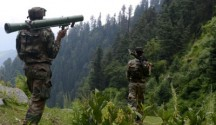 Around four to five terrorists were spotted by the army's 4 Para commandos along the LoC