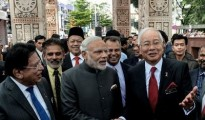 The agreements were signed following delegation-level talks between the two sides headed by Modi and Malaysian Premier Najib Razak
