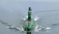 The submarine-launched ballistic missile (SLBM), however, failed to soar from the waters