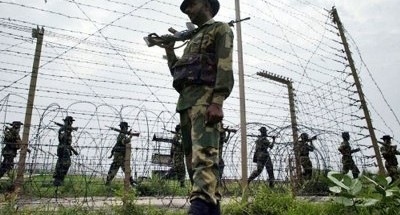 Around 250 people, including women and children, tried to enter western Tripura