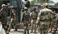 The firing between the CRPF and the terrorists was on till the time of filing of this report