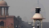 There would be a clear sky on Sunday in Delhi while shallow to moderate fog may occur in the morning