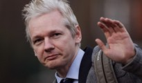 """Assange added that there were """"some quite unexpected angles that are quite interesting -- some even entertaining"""""""