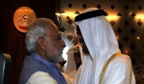 On Wednesday, Modi broke protocol as he personally received the crown prince on his arrival here