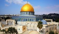 The violence broke out after weeks without clashes at the Al Aqsa mosque compound