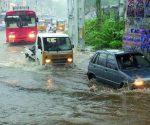With the met office forecasting more rains over next two days, a high alert was sounded
