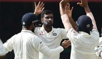 Off-spinner Ravichandran Ashwin (6/132) claimed his 19th five-wicket haul