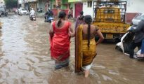 Personnel from the Army and the NDRF swung into action to relief works in Alwal