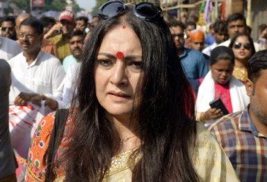 Image result for BJP women leader Agnimitra Paul
